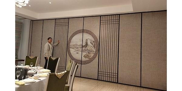 宾馆活动隔断,空间的整合优化师