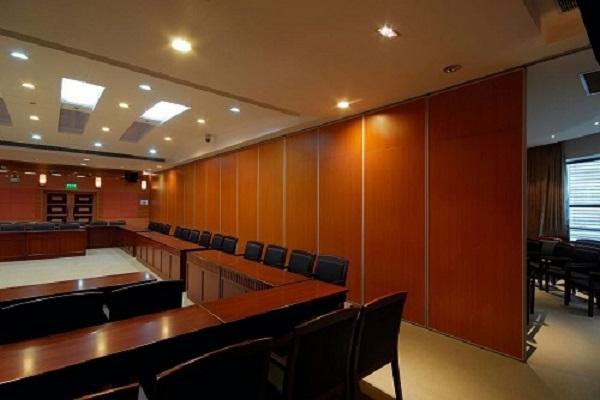 会议室折叠隔音隔断
