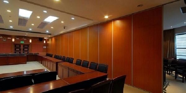 会议室活动隔断门