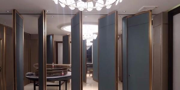 活动隔断屏风设计是商业经营场所装修中的巧妙环节