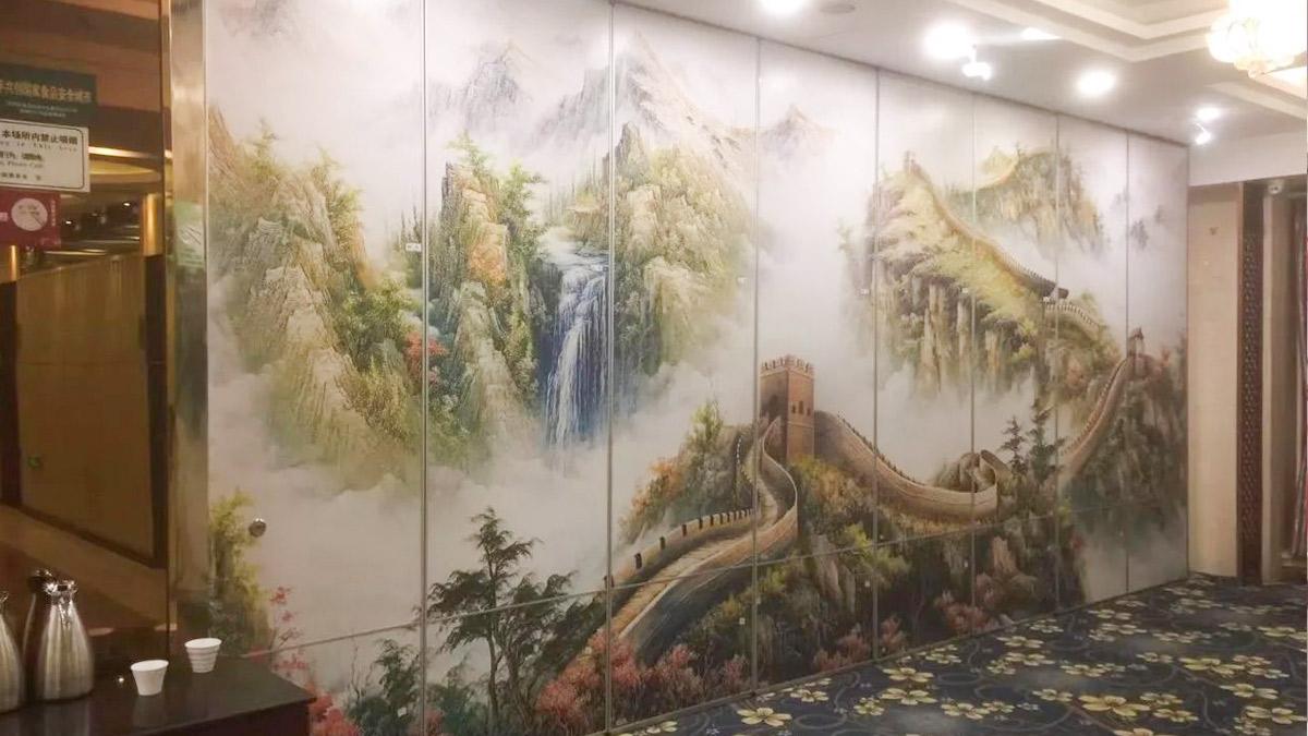 雍福苑大酒店移动隔断