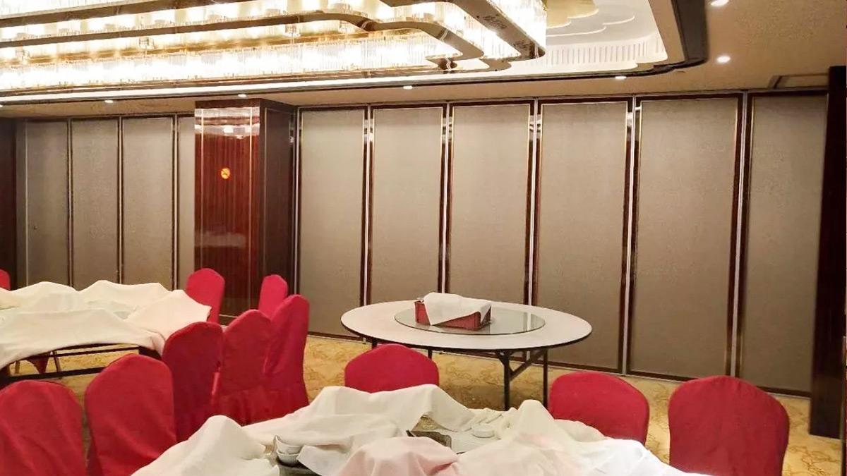 香梅国际大酒店移动隔断