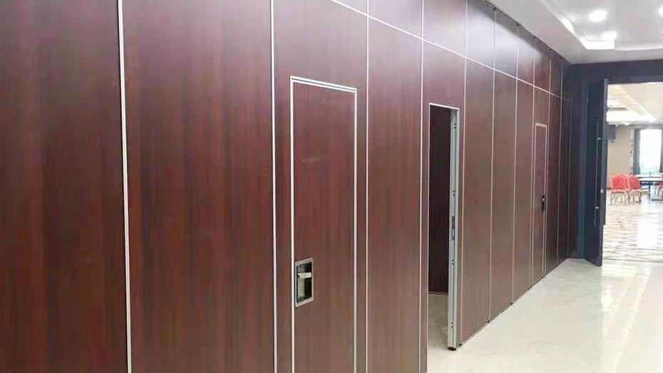 65型免漆板包间移动隔音墙