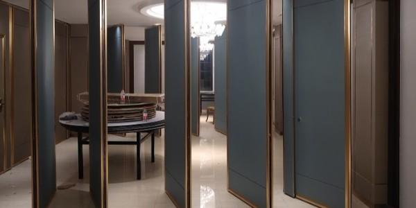 酒店可移动隔断,和环境相得益彰