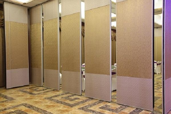 酒店的隔断折叠活动门