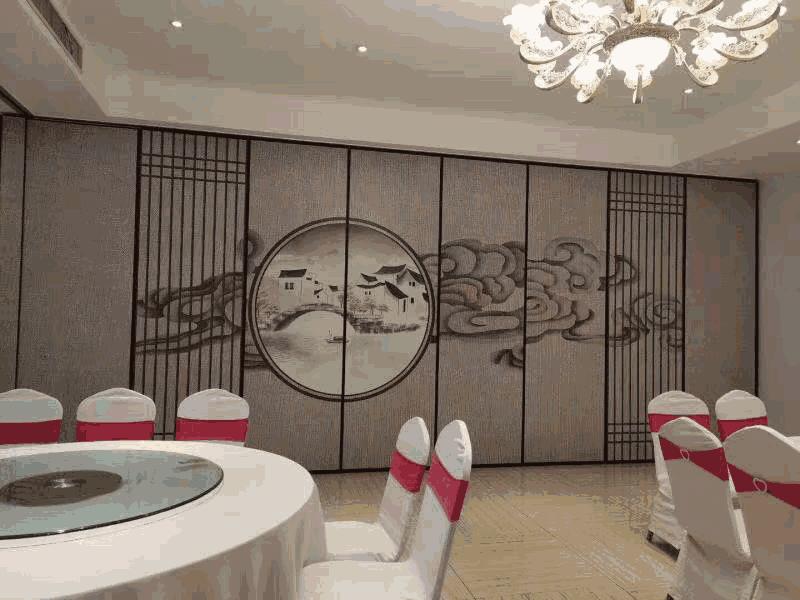 饭店包间活动隔断厂