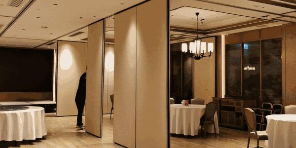 大厅活动隔断,让空间更灵动