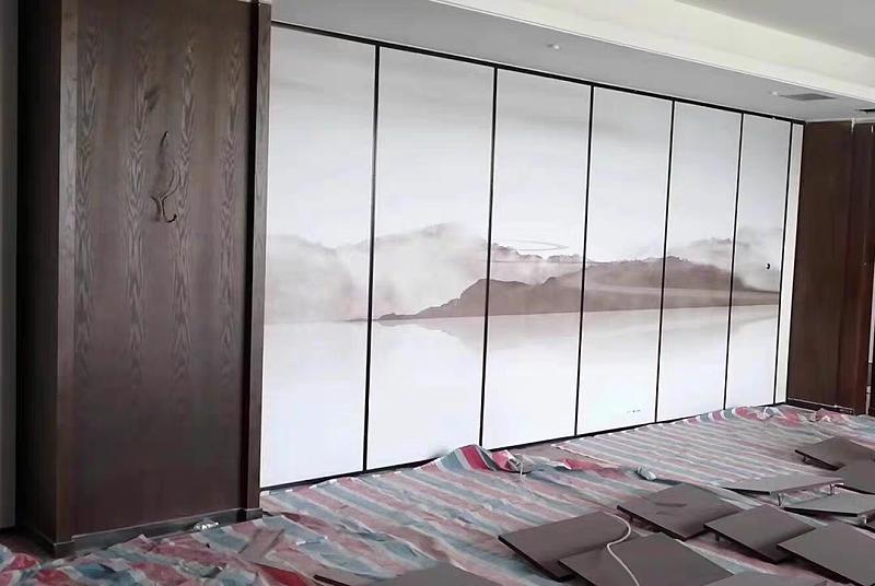 酒店折叠屏风